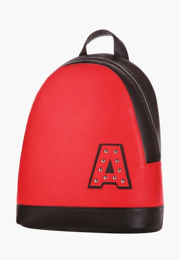 женский рюкзак alba soboni, красный