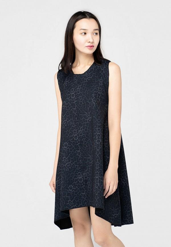 женское повседневные платье omero, синее