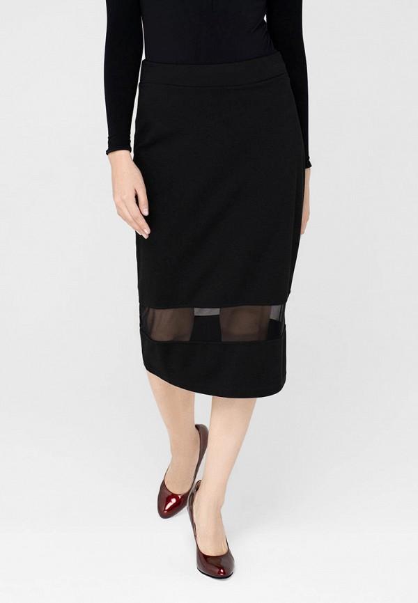 женская зауженные юбка omero, черная
