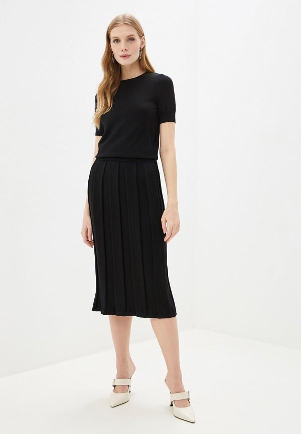 женский костюм wool studio, черный