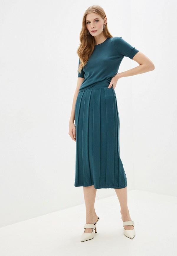 женский костюм wool studio, зеленый