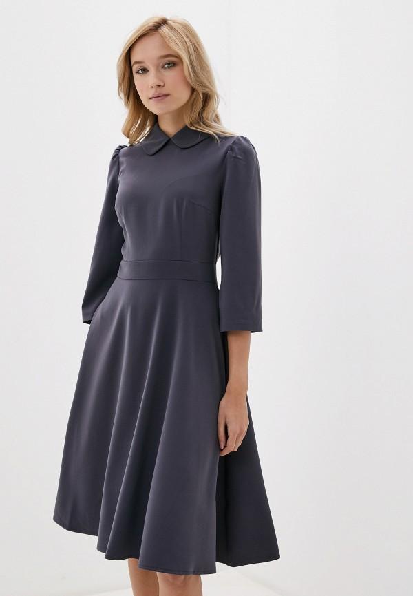 Платье Russicouture Russicouture MP002XW0GX2M платье miata серый 48 размер