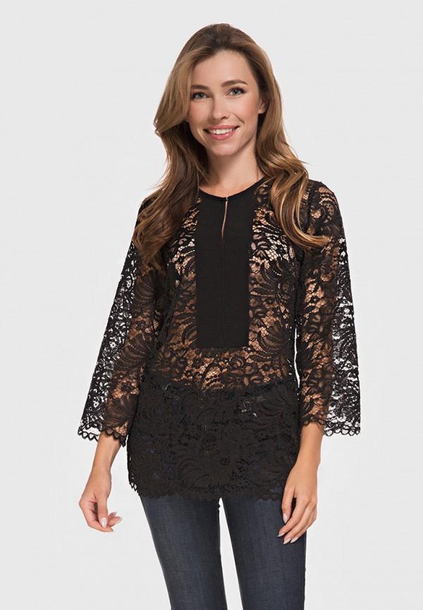 женская блузка german volf, черная