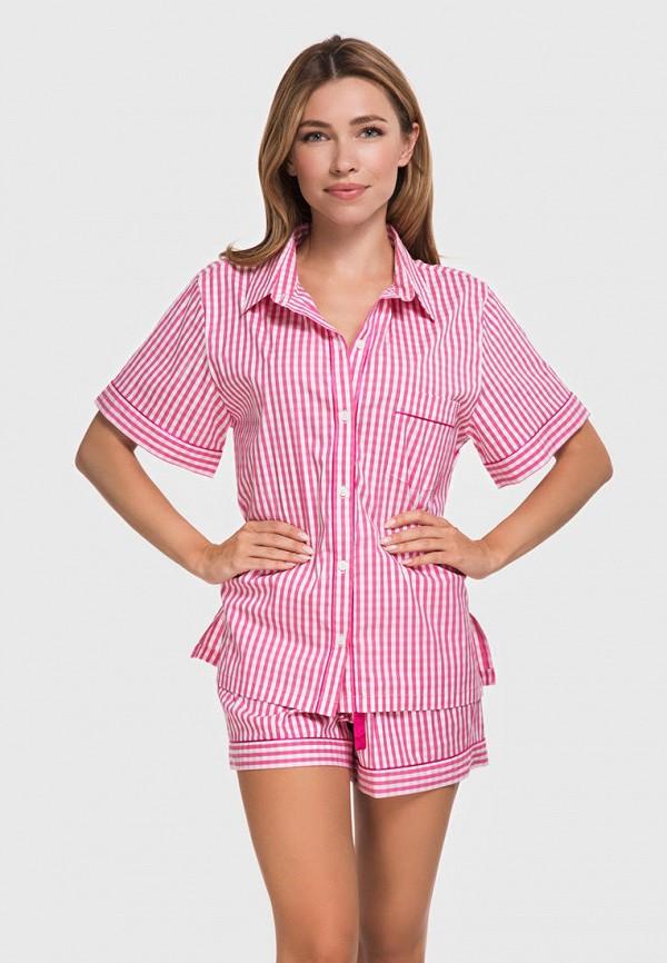 женская пижама german volf, розовая