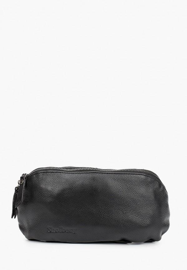 женская поясные сумка shoiberg, черная