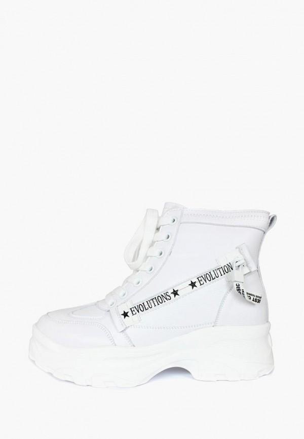 женские ботинки belletta, белые