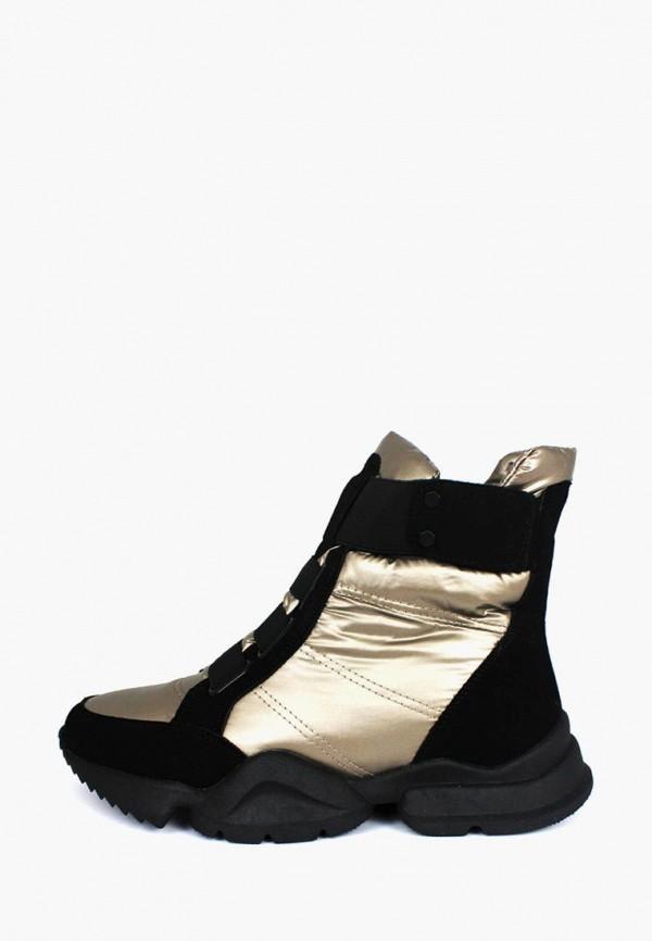 женские ботинки belletta, золотые