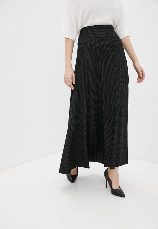женская юбка-трапеции ramanti, черная