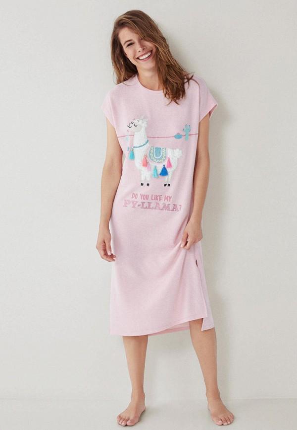 женские сорочка ночная women'secret, розовые