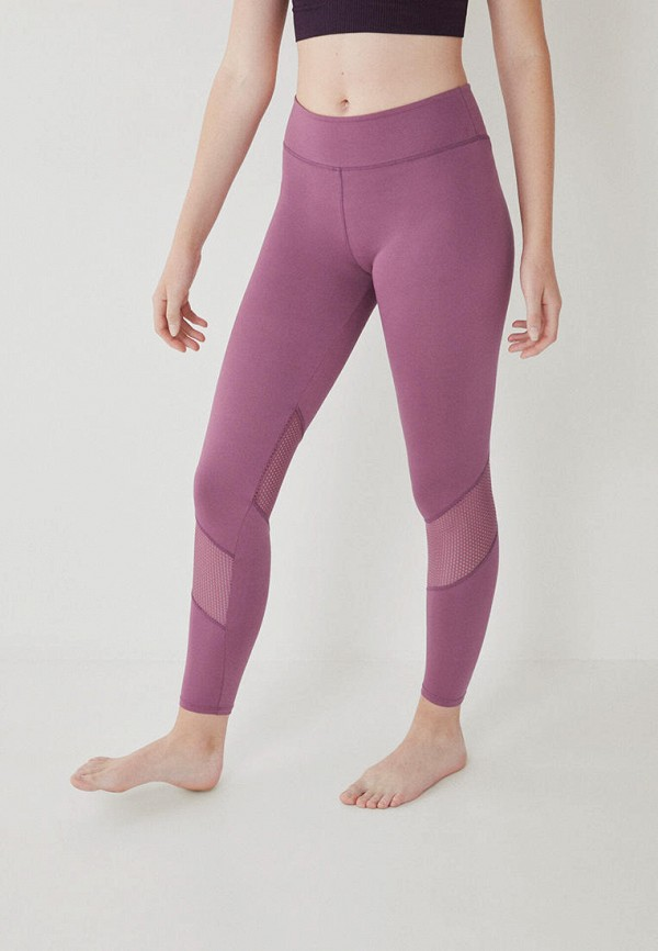 женские спортивные леггинсы women'secret, фиолетовые