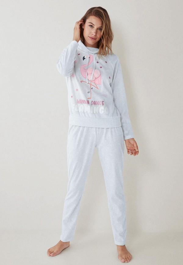 женская пижама women'secret, белая