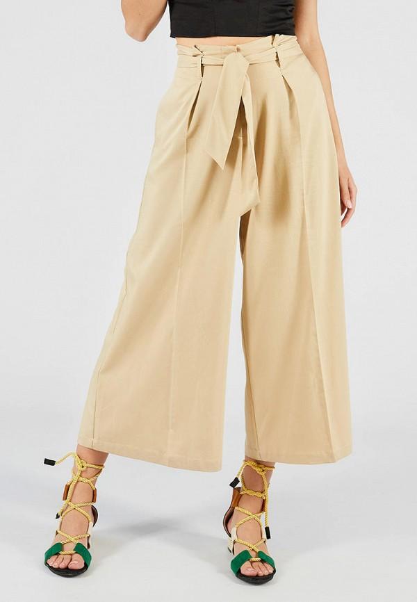 женские брюки ora, бежевые