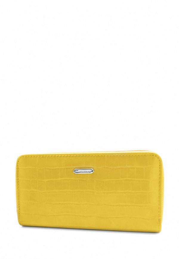 женский кошелёк david jones, желтый