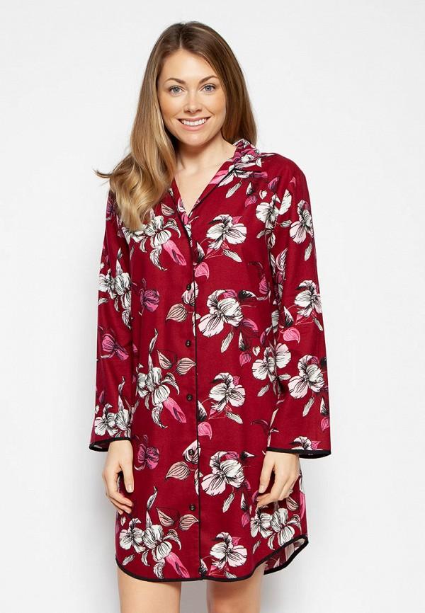 женский халат cyberjammies, бордовый