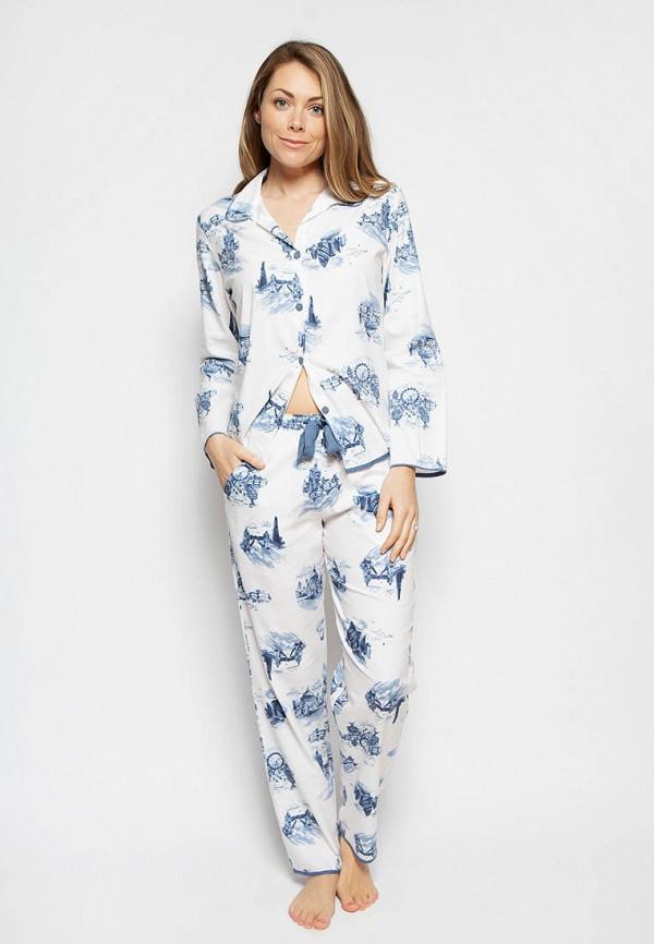 женская пижама cyberjammies, белая