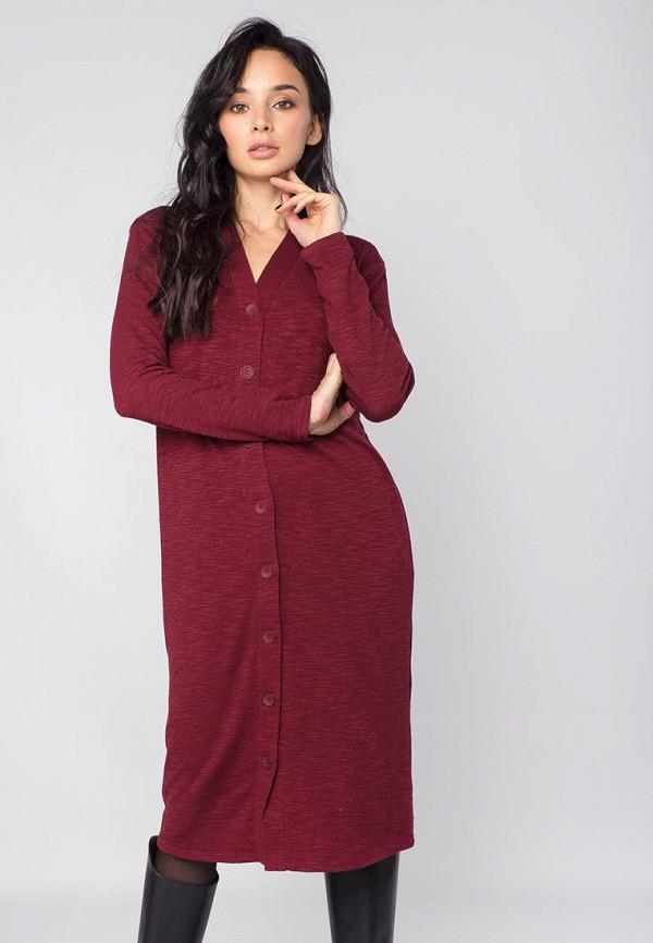 женское повседневные платье mr520, красное