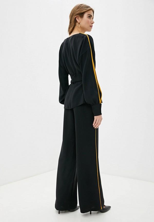 Фото 3 - Женский костюм Joymiss черного цвета