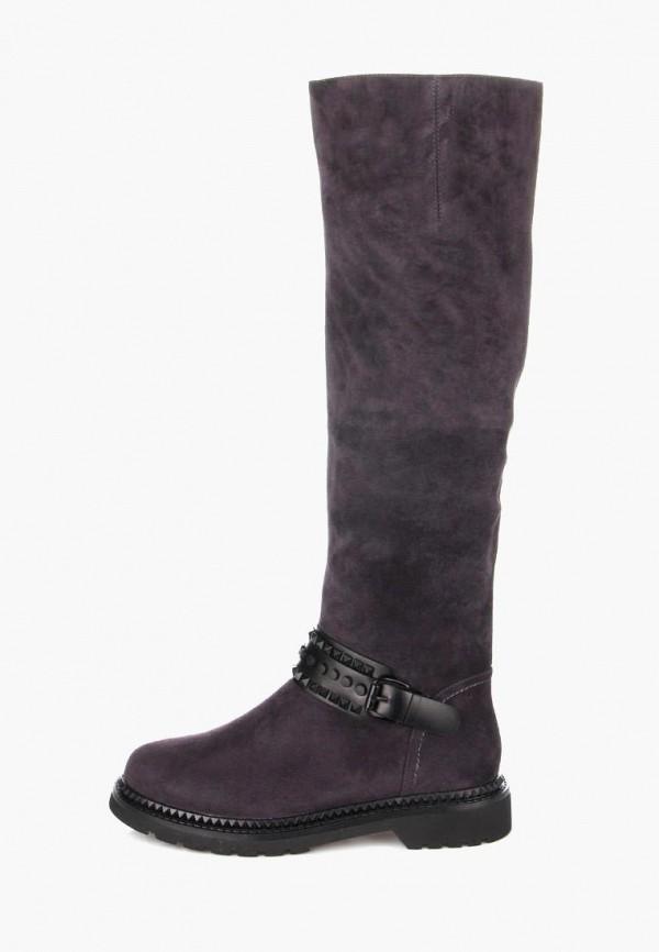 женские сапоги ditto, фиолетовые