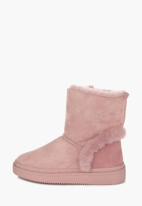 женские угги ditto, розовые