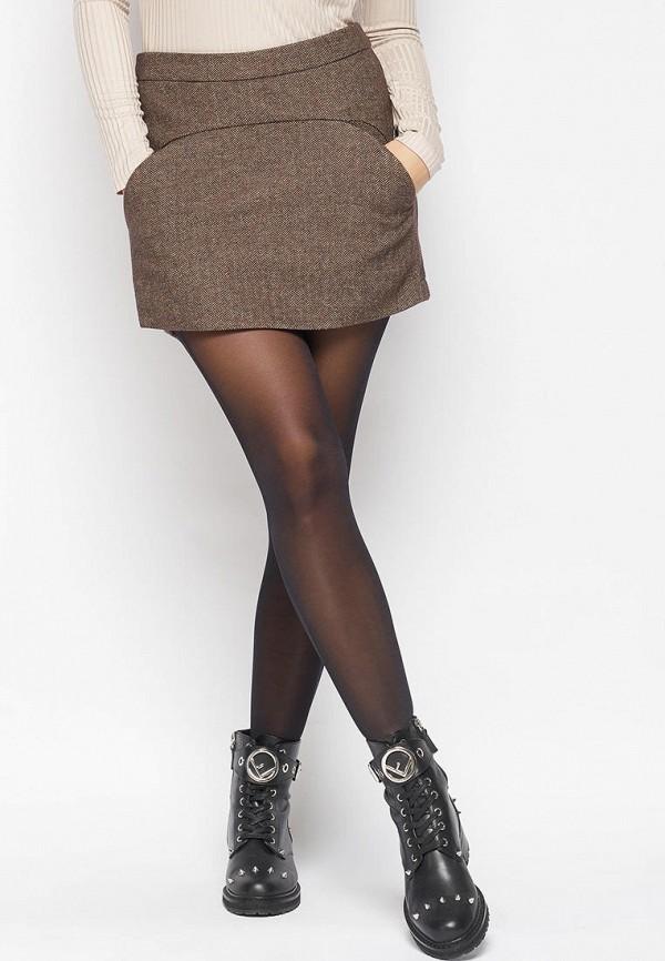 женская юбка bellart, коричневая
