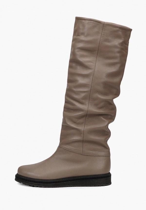 женские сапоги tops, коричневые