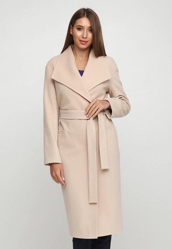 женское пальто florens, бежевое