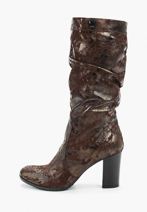 женские сапоги enzo logana, коричневые