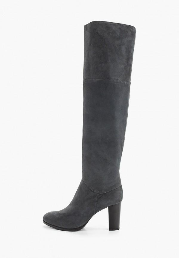 женские ботфорты enzo logana, серые