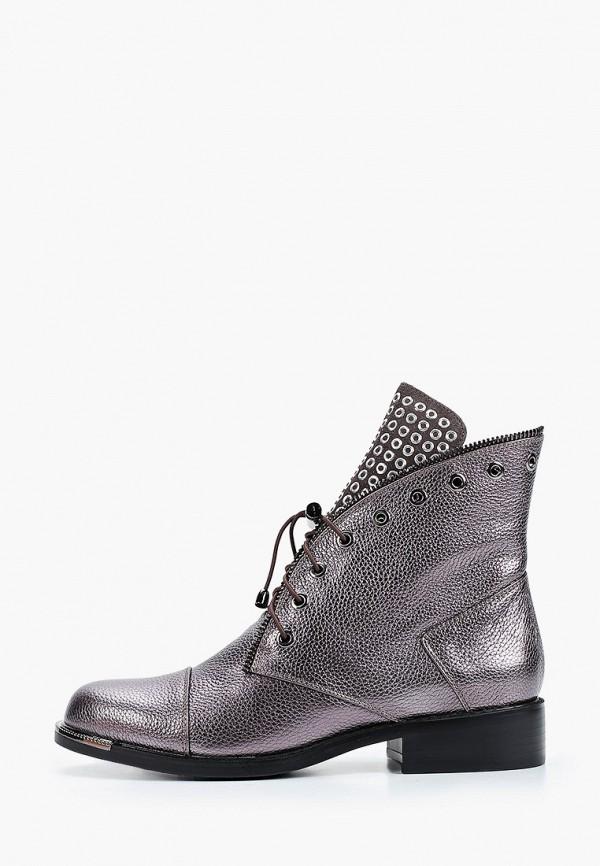женские высокие ботинки stivalli, серебряные