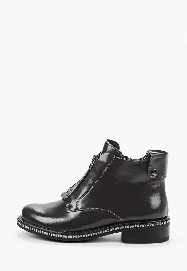 женские высокие ботинки stivalli, серые