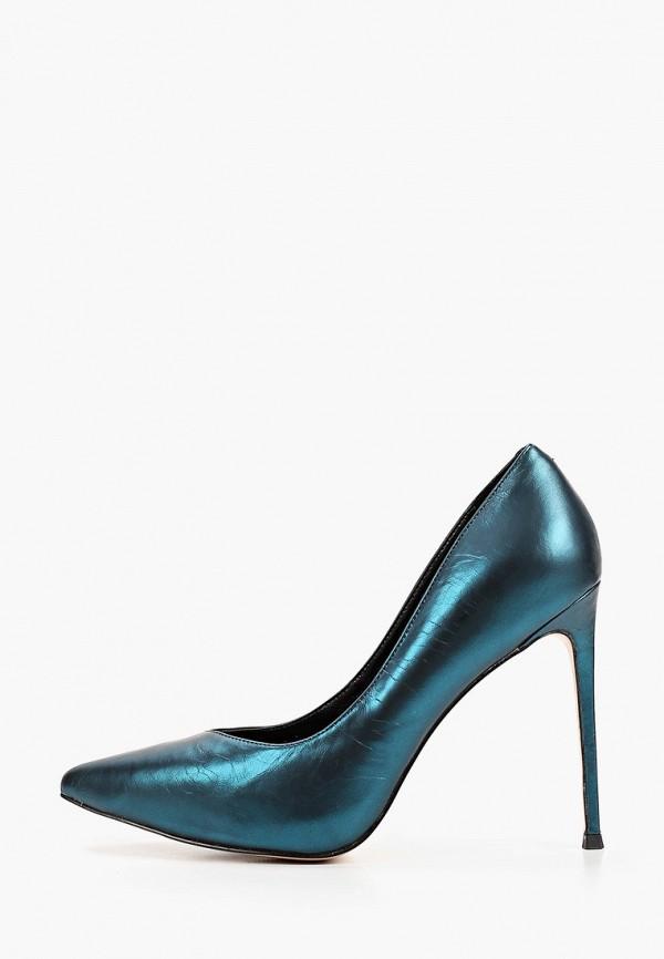 женские туфли-лодочки stivalli, бирюзовые