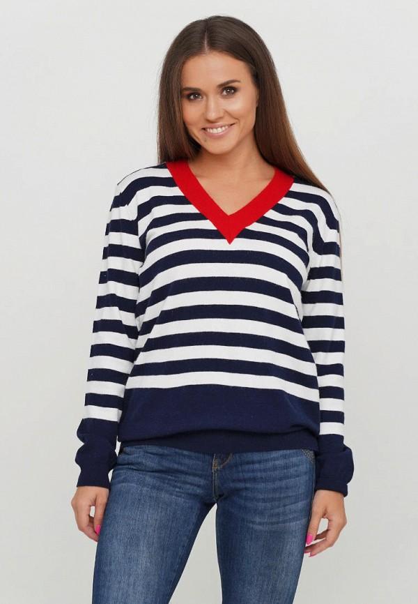 женский пуловер campione, синий