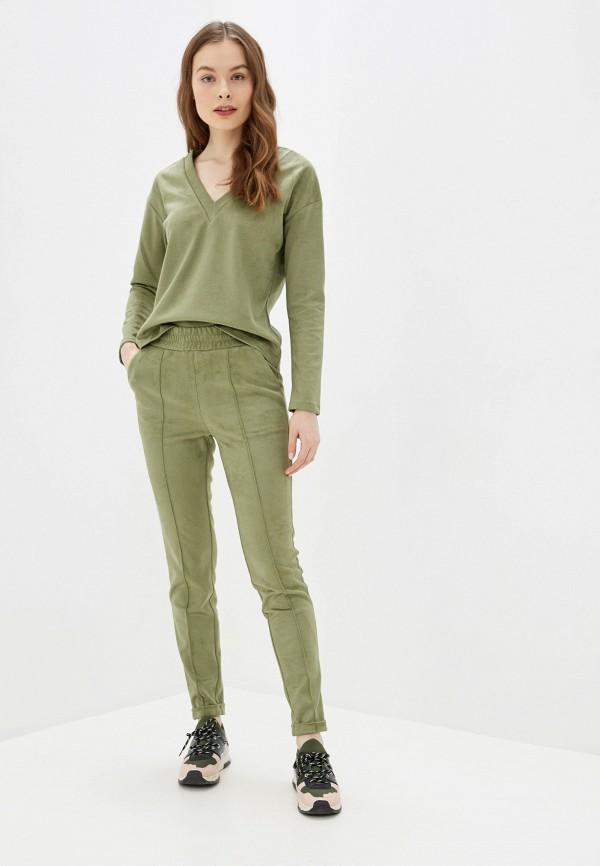 женский костюм viaville, зеленый