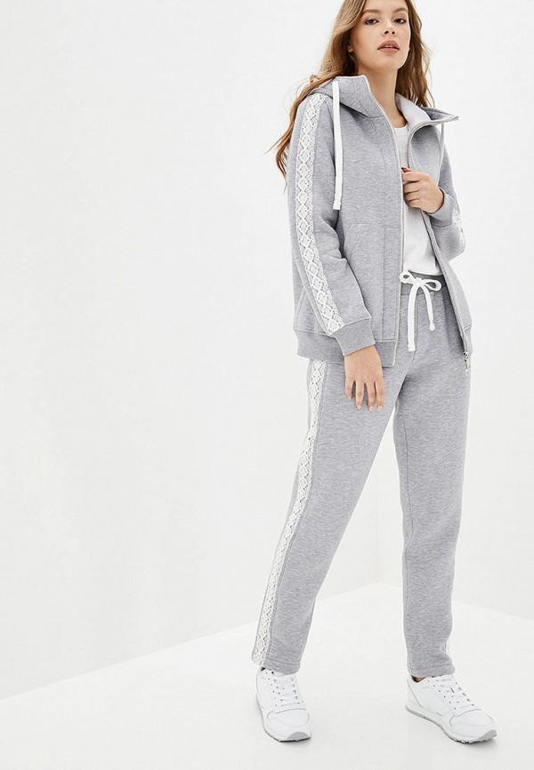 женский спортивный костюм o&j, серый