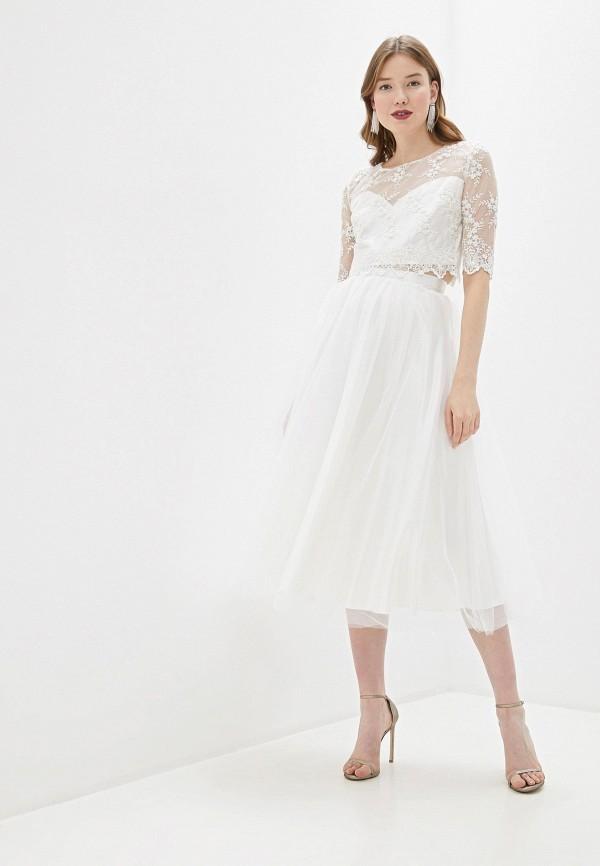 женский костюм seam, белый