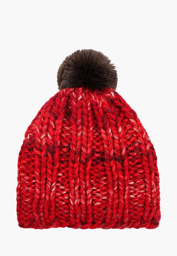 женская шапка марвелин, бордовая