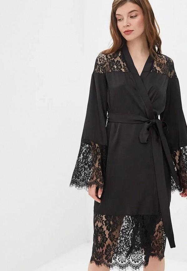 женский халат gepur, черный