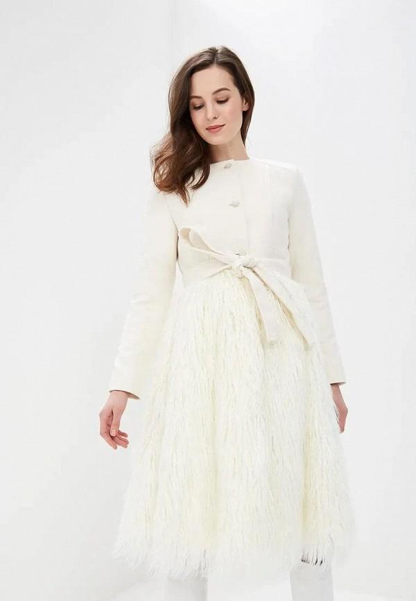 женское пальто gepur, белое