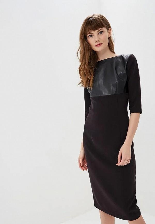 женское платье-футляр gepur, черное
