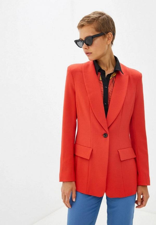 женский пиджак gepur, красный