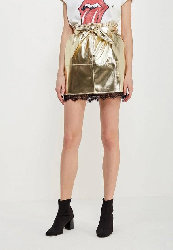 женская юбка gepur, золотая
