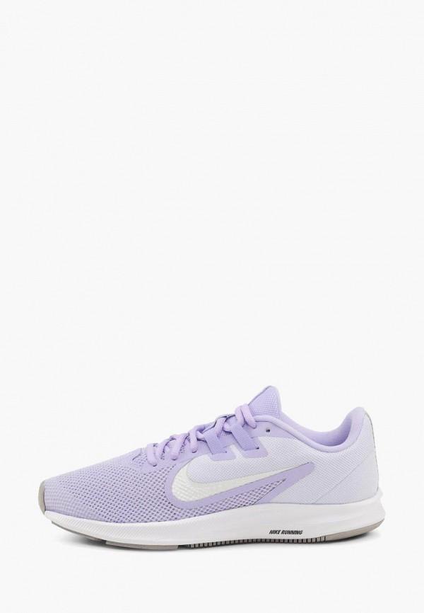 женские кроссовки nike, фиолетовые