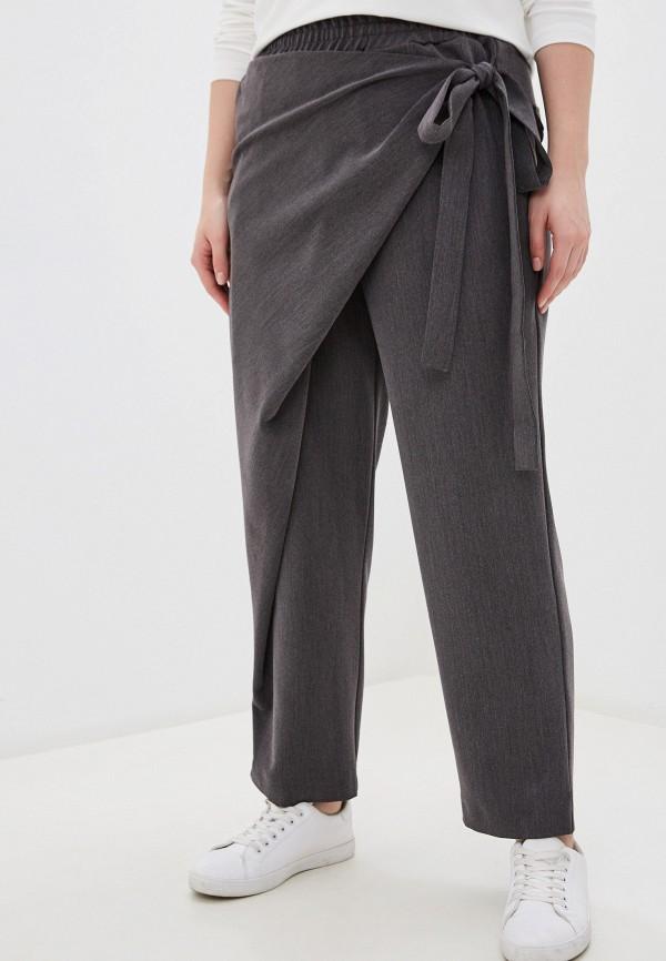 женские повседневные брюки w&b, серые
