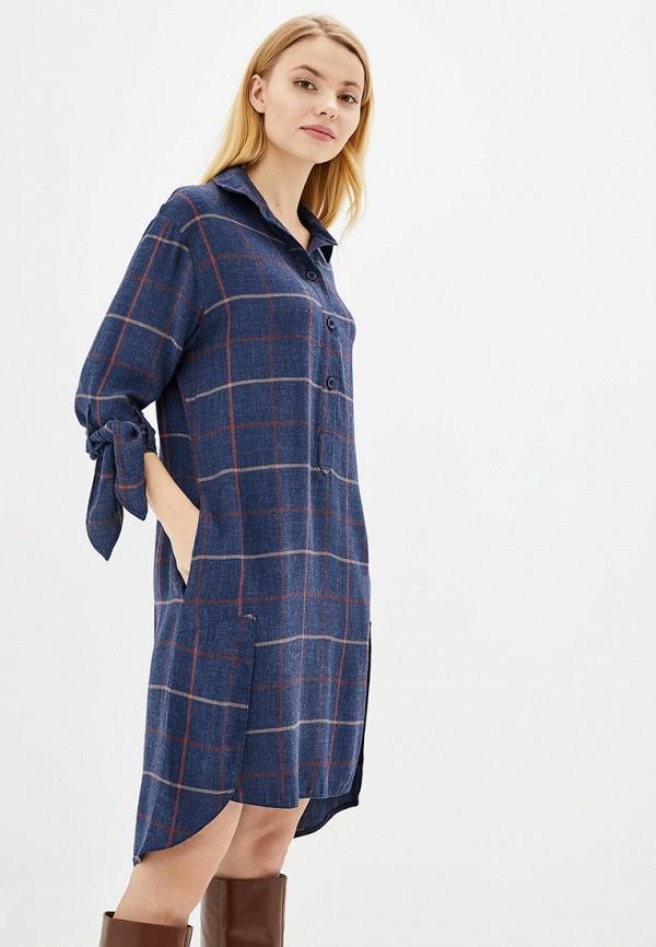 женское платье ricamare, синее