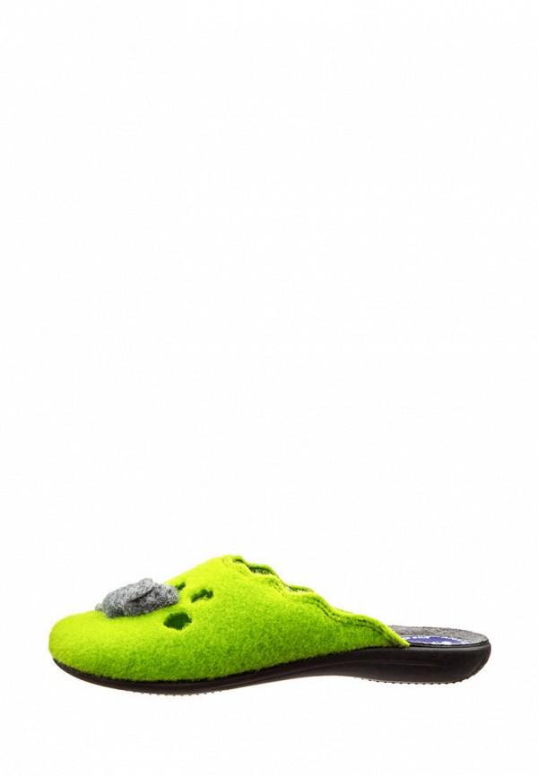 женские тапочки inblu, зеленые