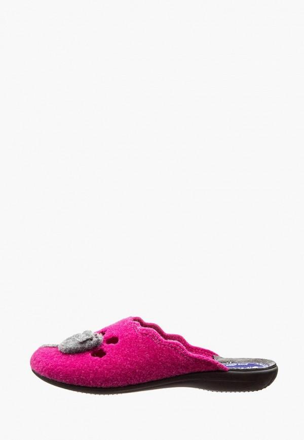 женские тапочки inblu, розовые