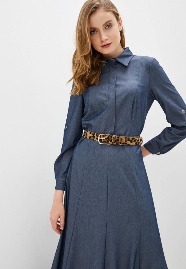 Фото 2 - Женское платье Argent синего цвета