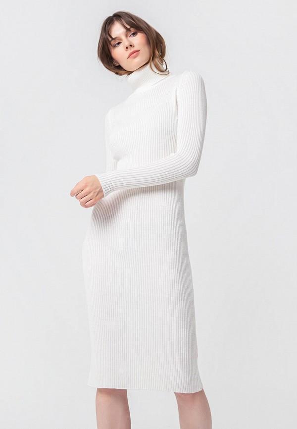 женское платье bgn, белое