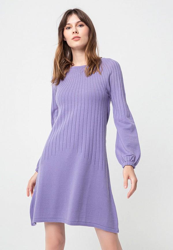 женское повседневные платье bgn, фиолетовое
