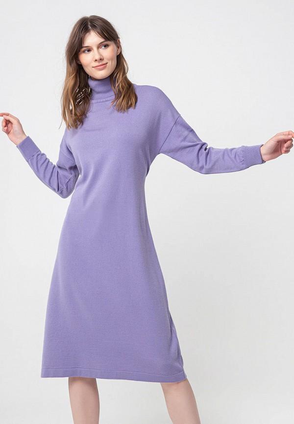 женское платье bgn, фиолетовое
